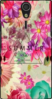 SUMMER LOVE Case for Sony Ericsson Xperia S HD