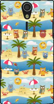 summer owls Sony Ericsson Xperia S HD Case