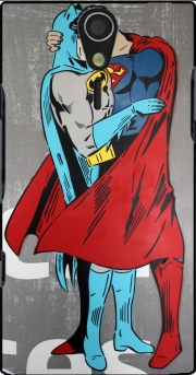 Superman And Batman Kissing For Equality Sony Ericsson Xperia S HD Case