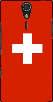 Switzerland Flag Case for Sony Ericsson Xperia S HD