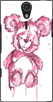 Pink Teddy Bear Case for Sony Ericsson Xperia S HD