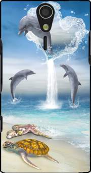The Heart Of The Dolphins Case for Sony Ericsson Xperia S HD