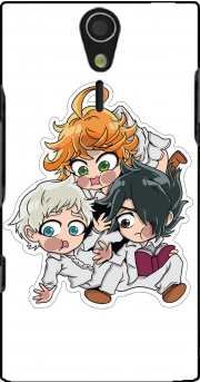 The Promised Neverland Emma Ray Norman Chibi Sony Ericsson Xperia S HD Case