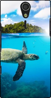Tropical Paradise Case for Sony Ericsson Xperia S HD