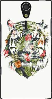 Tropical Tiger Case for Sony Ericsson Xperia S HD