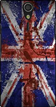 Union Jack Painting Case for Sony Ericsson Xperia S HD