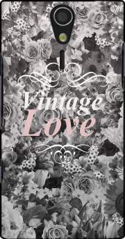 Vintage love in black and white Case for Sony Ericsson Xperia S HD