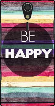 Be Happy Case for Sony Ericsson Xperia S HD