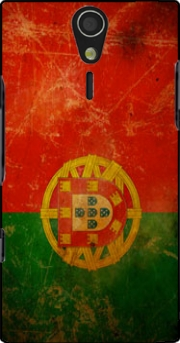 Vintage Flag Portugal Case for Sony Ericsson Xperia S HD