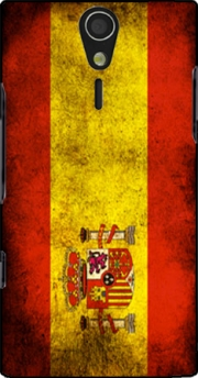 Flag Spain Vintage Case for Sony Ericsson Xperia S HD