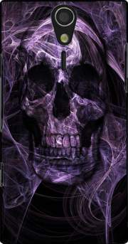 Violet Skull Case for Sony Ericsson Xperia S HD