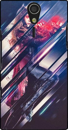 Case Wanda maximoff witch for Sony Ericsson Xperia S HD
