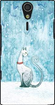 Winter Cat Case for Sony Ericsson Xperia S HD