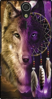 Wolf Dreamcatcher Sony Ericsson Xperia S HD Case