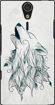 Wolf  Case for Sony Ericsson Xperia S HD