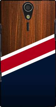Wooden New England Case for Sony Ericsson Xperia S HD