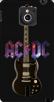 AcDc Guitare Gibson Angus Case for Sony Xperia Sola