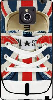 All Star Basket shoes Union Jack London Case for Sony Xperia Sola