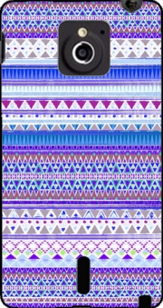 Blue Chenoa Aztec Case for Sony Xperia Sola