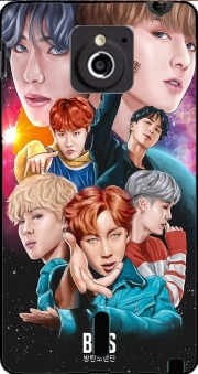 BTS DNA FanArt Case for Sony Xperia Sola