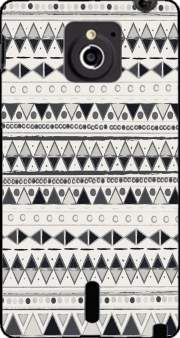Ethnic Candy Tribal in Black and White Case for Sony Xperia Sola
