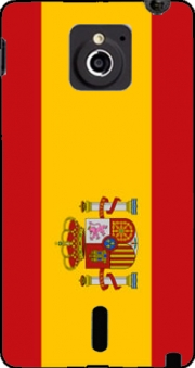 Flag Spain Case for Sony Xperia Sola