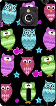 funky owls Case for Sony Xperia Sola