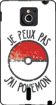 Je peux pas j ai Pokemon Case for Sony Xperia Sola