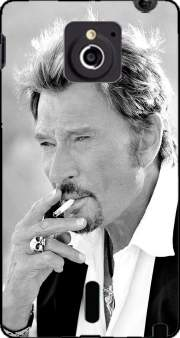 johnny hallyday Smoke Cigare Hommage Case for Sony Xperia Sola