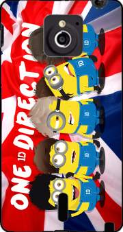 Minions mashup One Direction 1D Case for Sony Xperia Sola