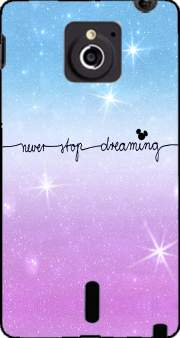 Never Stop dreaming Case for Sony Xperia Sola