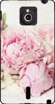 peonies on white Case for Sony Xperia Sola