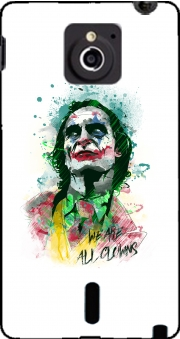 Watercolor Joker Clown Sony Xperia Sola Case