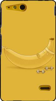 Banana Crunches Case for Sony Xperia Go