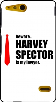 Beware Harvey Spector is my lawyer Suits Sony Xperia Go Case