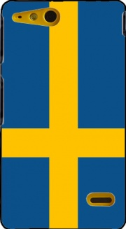 Flag Sweden Case for Sony Xperia Go