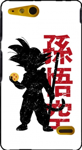 Case Goku silouette for Sony Xperia Go