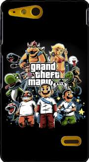 Grand Theft Mario Case for Sony Xperia Go