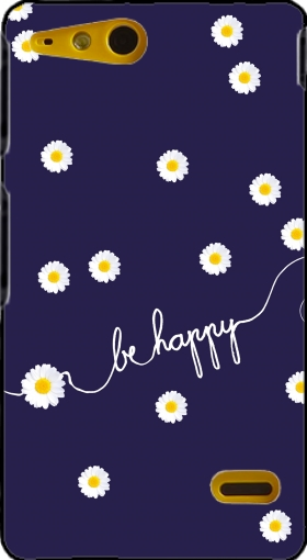 Case Happy Daisy for Sony Xperia Go
