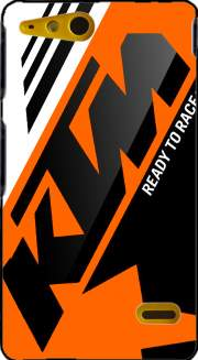 KTM Racing Orange And Black Case for Sony Xperia Go