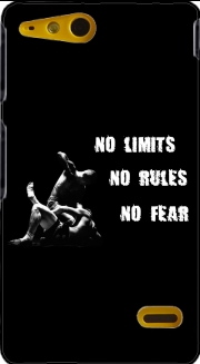 MMA No Limits No Rules No Fear Sony Xperia Go Case