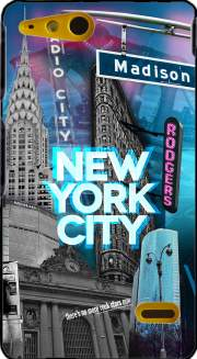New York City II [blue] Case for Sony Xperia Go