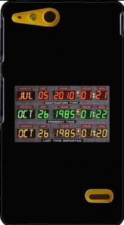 Time Machine Back To The Future Sony Xperia Go Case