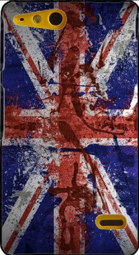 Case Union Jack Painting for Sony Xperia Go