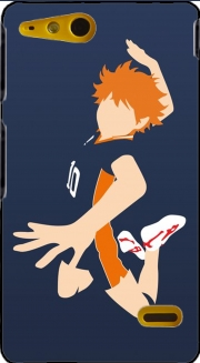 Volleyball Haikyuu Shoyo Hinata Case for Sony Xperia Go