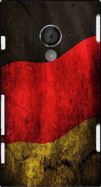 Case Sony Xperia acro S with pictures flag