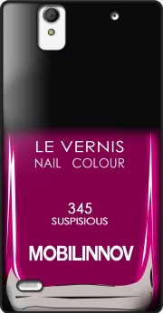 Nail Polish 345 SUSPISIOUS Case for Sony Xperia C4