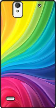 Rainbow Abstract Case for Sony Xperia C4