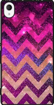 PARTY CHEVRON GALAXY  Case for Sony Xperia M4 Aqua