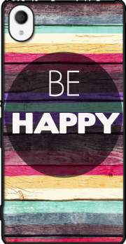 Be Happy Case for Sony Xperia M4 Aqua
